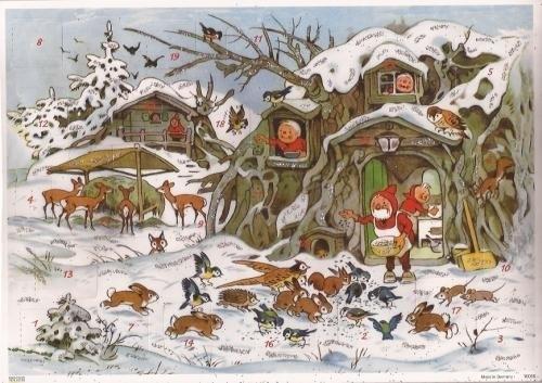 10098 Kaboutertjes in het sneeuwbos Adventskalender