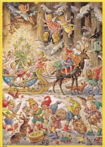 10094 Engeltjes & Kabouters arreslee Adventskalender