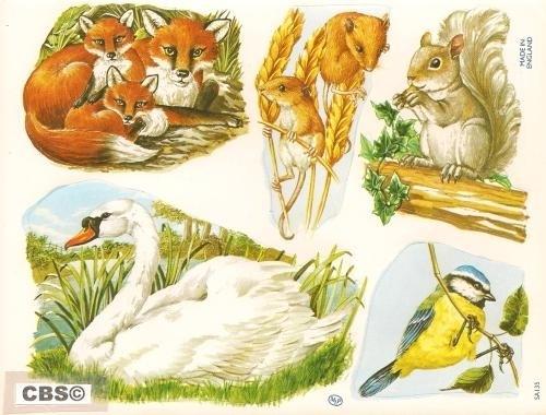 Stickers dieren poëzieplaatjes MLP SA135