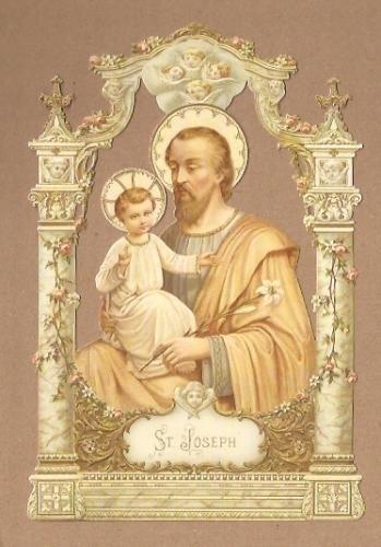 Religieus: Sint Joseph poezieplaatjes 5153
