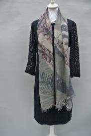gemeleerde sjaal