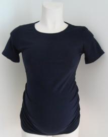 Basisshirt korte mouw (donkerblauw)