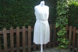 Off white jurkje Mirjam  (   XL)