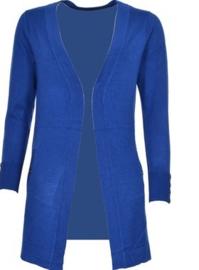 Kobalt blauw vest   MAAT M EN XL