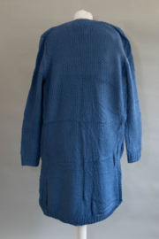 kobalt blauw vest  verkrijgbaar in  S,M L