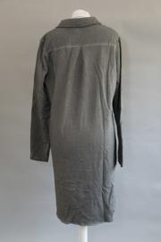 Sweat jurk  grijs groen