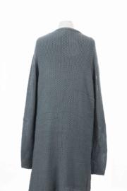 oud blauw vest