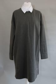 tricot jurk grijs  ALLEEN NOG S
