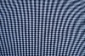 Zwart-wit geruite memorystof (heel klein ruitje)