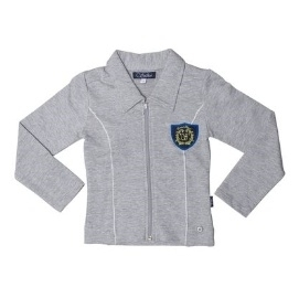 Sweat vest Anika (light grey) (Mt. 128)