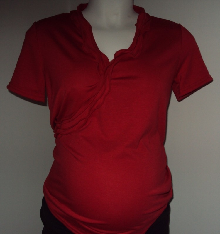 Shirt Natasja (TBAW) Rood (Mt. XL)