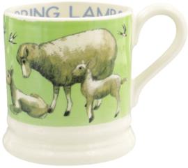 Emma Bridgewater Bright New Morning Spring Lambs 1/2 Pint Mug
