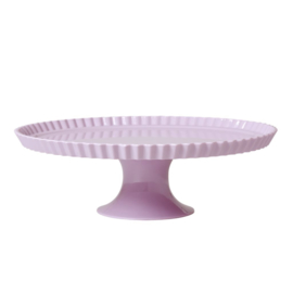 Rice Large Melamine Cake Stand in Lavender