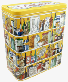 Emma Bridgewater Larder Shelves Tall Wide Rectangular Storage Tin