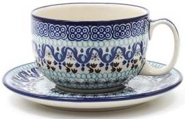 Bunzlau Cup & Saucer 350 ml Marrakesh