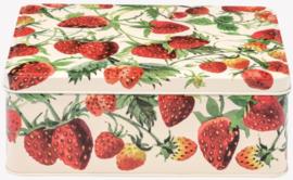 Emma Bridgewater Strawberries Rectangular Tin