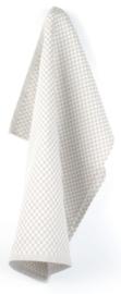 Bunzlau Tea Towel Small Check Grey