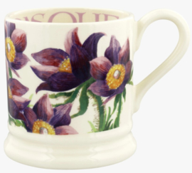 Emma Bridgewater Flowers Pasque Flower 1/2 Pint Mug