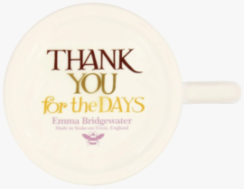 Emma Bridgewater Rainbow Toast Wild & Wonderful Days 1/2 Pint Mug 1RAI060002 1/2 Pint Mug