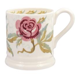 Emma Bridgewater Sponge Rose Half Pint Mug