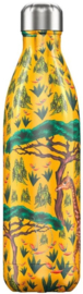 Chilly's Drink Bottle 750 ml Tropical Giraffe -glad en glanzend-