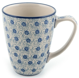 Bunzlau Mug 300 ml Flower Fountain