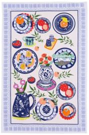 Ulster Weavers Tea Towel Cotton Mediterranean Plates