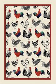 Ulster Weavers Tea Towel Linen Rooster