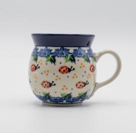 Bunzlau Farmers Mug 240 ml Ladybug -Limited Edition-