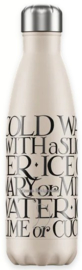 Chilly's Drink Bottle 500 ml Emma Bridgewater Black Toast -mat met reliëf-