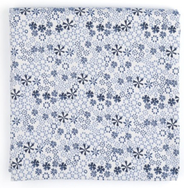 Bunzlau Tablecloth Indigo Lace 140 x 260 cm