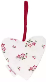 GreenGate Heart Avery white