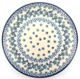 Bunzlau Plate 26,5 cm Winter Garden