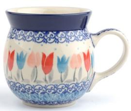 Bunzlau Farmers Mug 240 ml Tulip Lovely Pink -Limited Edition-