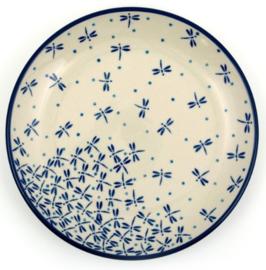 Bunzlau Plate 20 cm Damselfly