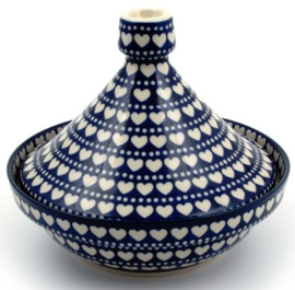 Bunzlau Tajine 1500 ml Blue Valentine