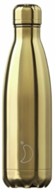 Chilly's Drink Bottle 500 ml Gold