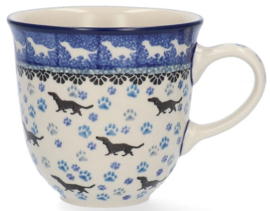 Bunzlau Tulip Mug 340 ml Dog -Limited Edition-