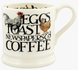 Emma Bridgewater Rise & Shine Eggs & Toast 1/2 Pint Mug - 2021