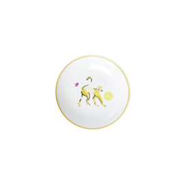Rice Porcelain Dipping Bowl - Monkey Print - Special Edition
