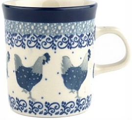 Bunzlau Straight Mug 150 ml Chicken -Limited Edition-