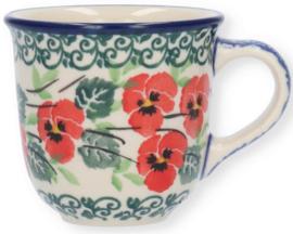 Bunzlau Tulip Mug 70 ml Romance