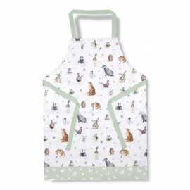 Wrendale Designs Woodland PVC Apron