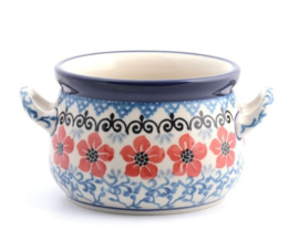 Bunzlau Soupbowl 360 ml Red Violets