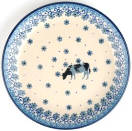 Bunzlau Plate Ø 20 cm Cow -Limited Edition-