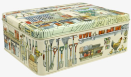 Emma Bridgewater Potting Shed Rectangular Tin
