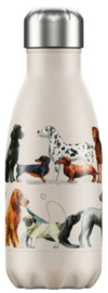 Chilly's Drink Bottle 260 ml Emma Bridgewater Dogs -mat met reliëf-
