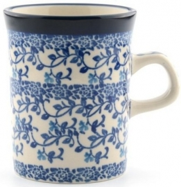 Bunzlau Straight Mug 250 ml Tender Twigs