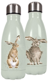 Wrendale Designs 'Hare and the Bee' Small Water Bottle 260 ml