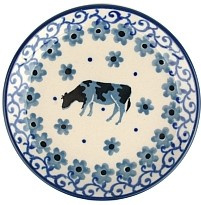 Bunzlau Teabag Dish 10 cm Cow -Limited Edition-